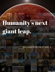 Humanity's next giant leap.